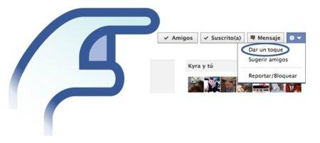 """Facebook cambia de ubicación el botón de """"dar un toque"""" pero lo sigue manteniendo"""
