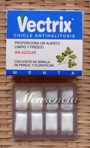 Chicle contra la halitosis a base de aceite de semillas de perejil: fácil y barato