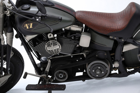 Harley Davidson Asiento Cocodrilo