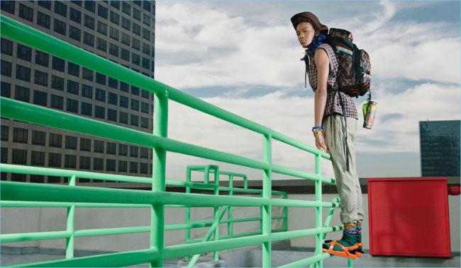 Prada Spring Summer 2017 Mens Campaign Masao Parris