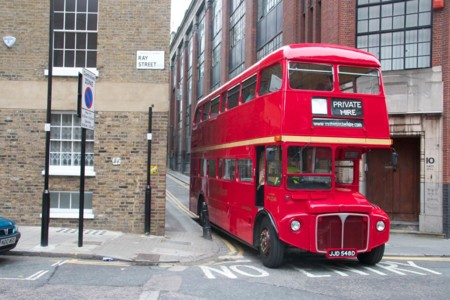 Vintage Red Bus Hire 002