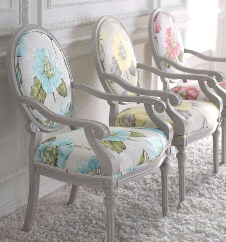 Dale un aire nuevo a tus sillas con tapizados xxl - Sillas louis xvi ...