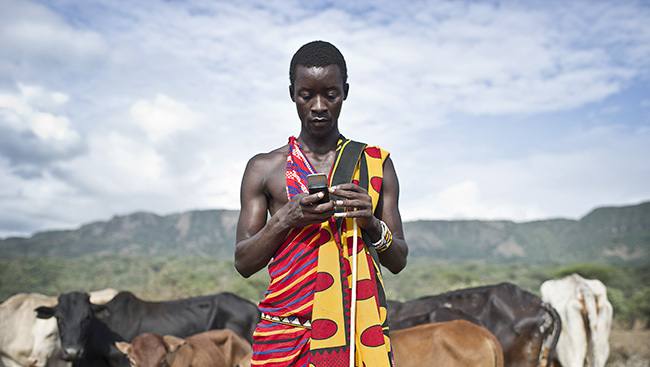 Kenia mobile phone