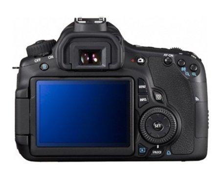 Canon 60D pantalla