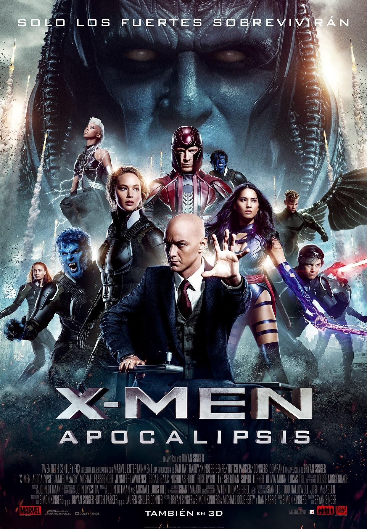 Foto de 'X-Men: Apocalipsis', todos los carteles (21/22)