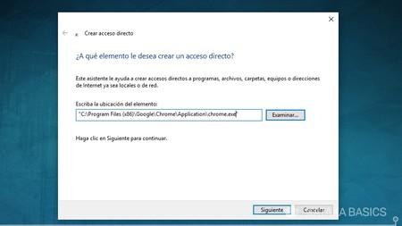 Direccion Chrome