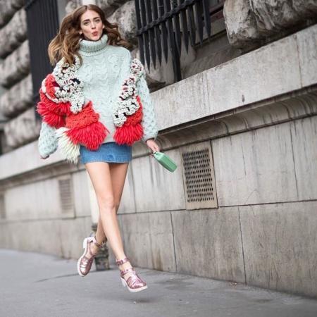 chiara ferragni delpozo semana moda paris marzo