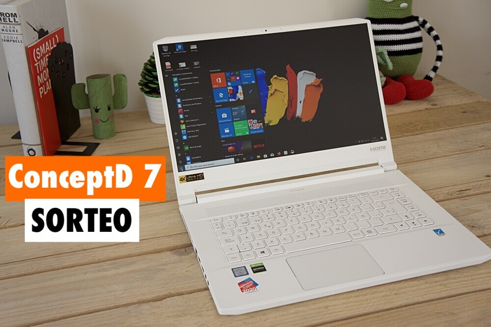 Consigue un espectacular portátil Acer ConceptD 7 con Xataka: participa y llévatelo gratis