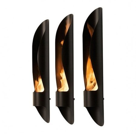 Fuego de diseño para interior y exterior