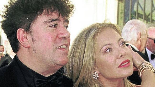 Pedro Almodóvar y Cecilia Roth