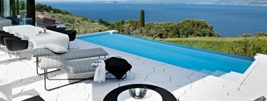 Puertas abiertas: una casa minimalista y de ensueño en el Lago de Garda