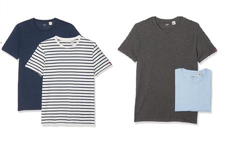 Pack de 2 camisetas Levi's desde sólo 14,94 euros ¡Varios modelos y colores!