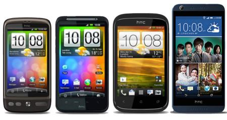 Algunos HTC Desire