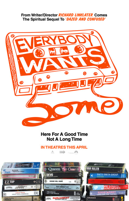 Cartel de Everybody Wants Some