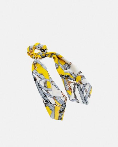 Coletero Pressume con pañuelo amarillo estampado