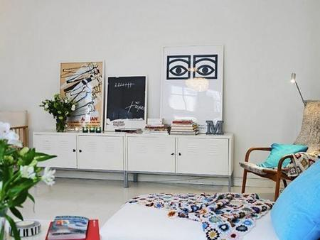 La versatilidad del armario PS de Ikea