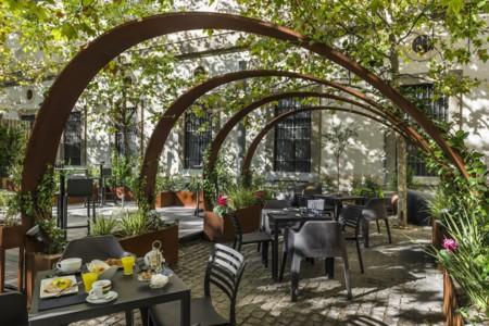 Disfrutar al aire libre en invierno en la Terraza del Reina Sofía by Arzábal, ¡todo un lujo!