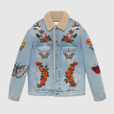 La denim jacket definitiva de la temporada viene firmada por Gucci