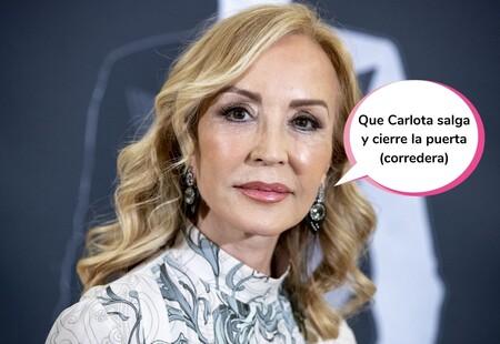 """El dardazo de Carmen Lomana directo al corazoncito de Carlota Corredera: """"Se cree iluminada por Dios"""""""