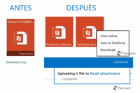 Outlook.com pronto permitirá guardar archivos adjuntos directamente en OneDrive