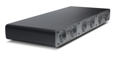 Esta base de sonido 3.1 se ayuda de tu receptor A/V para mejorar el audio de tu tele