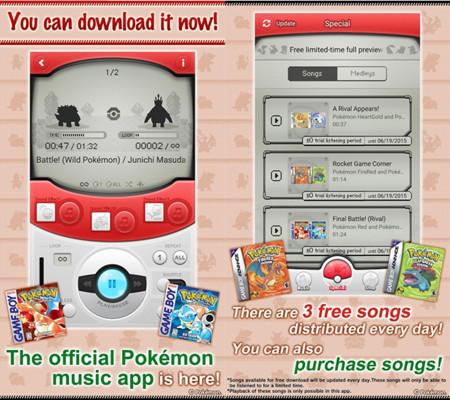 Pokémon Jukebox, un reproductor de música nostálgico pero con un planteamiento terrible