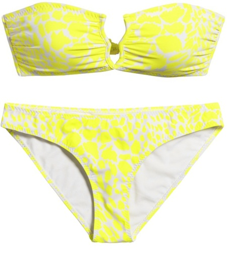 bikini hm amarillo