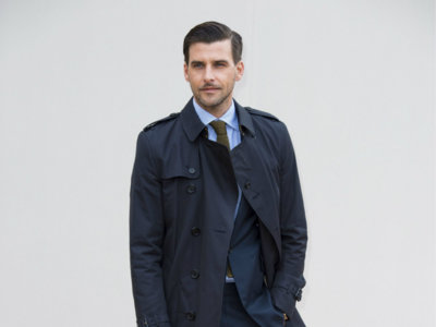 Los looks más elegantes de toda la Semana de la Moda de Londres son los de Johannes Huebl