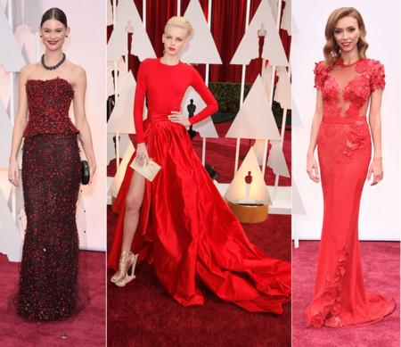 Actrices Oscar 2015 Rojo