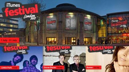 iTunes Festival London 2011, fechas y primeros grupos confirmados