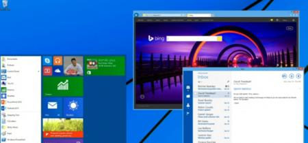El menú inicio reemplazará a la pantalla de inicio en Windows 9