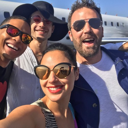 El selfie de la Justice League