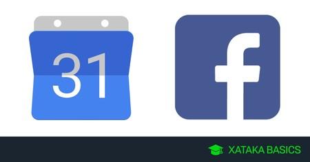 Cómo añadir los eventos de Facebook en Google Calendar