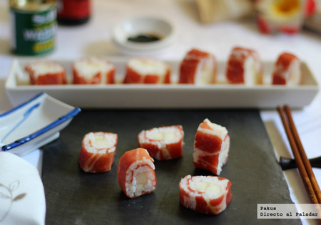Makis De Melon Con Jamon