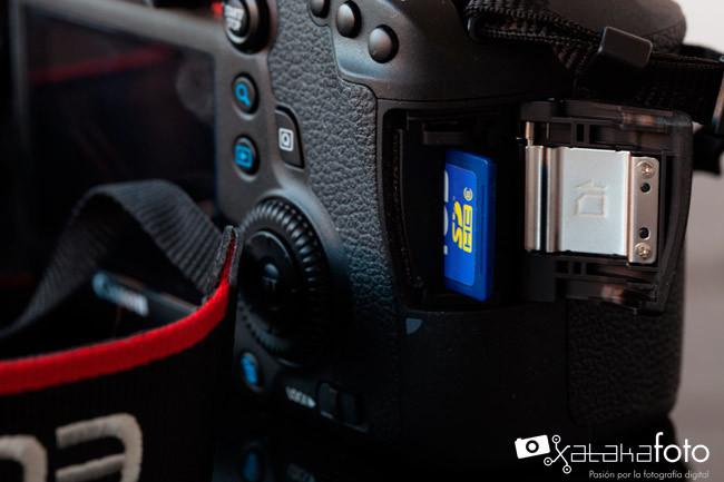 Canon 6D Tarjeta