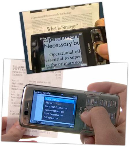 Nokia Magnifier, una aplicación para la accesibilidad