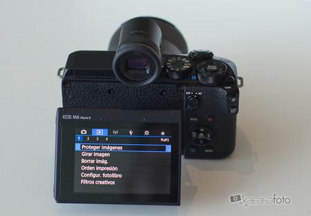 Toma Contacto Canon Eos M6 Markii 5