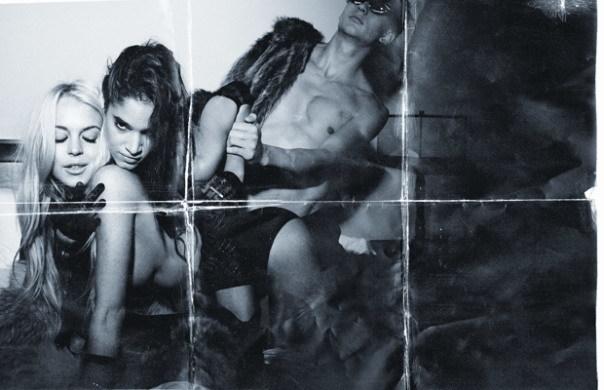 Lindsay Lohan en la revista Muse