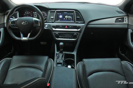 Hyundai Sonata Sport interior