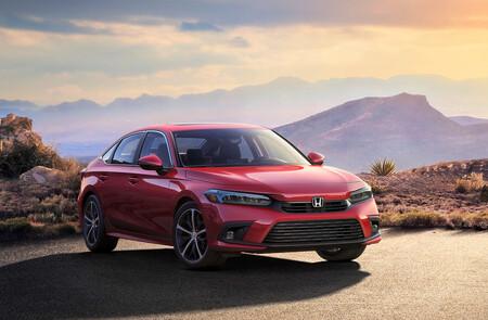 Honda Civic Hatchback 2022, primer teaser