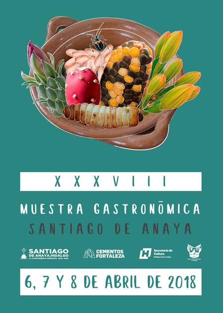 Xxxviii Muestra Gastronomica Santiago De Anaya 2018