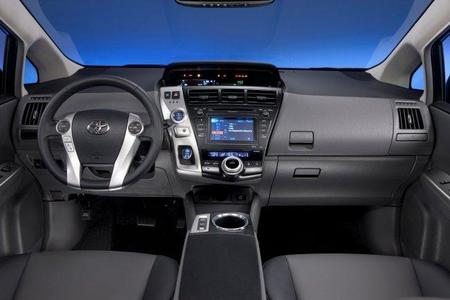 Prius familiar interior