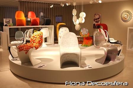 Visita a la Exposición en Vitra: 10 autores interpretan la silla Panton (II)
