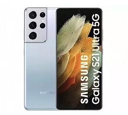 """Samsung Galaxy S21 Ultra 5G, Plata, 128 GB, 12 GB RAM, 6.8"""" AMOLED 120Hz, Exynos 2100, 5000 mAh"""