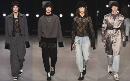 Los Anos Setenta Y El Volumen En Las Siluetas Protagonizan Los Desfiles De La London Collections Men 2
