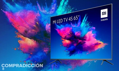 MediaMarkt tiene la Xiaomi Mi TV 4S de 65 pulgadas más barata hoy: estrena esta enorme smart TV por sólo 529 euros
