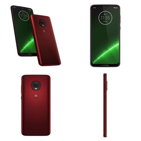 Moto G7 Plus Imagenes Rojo