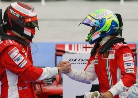 No está claro quién debe ser el número 1 en Ferrari