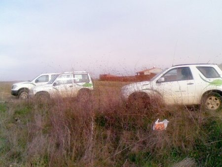 Coches Agentes forestales