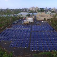 Así es la primera microred solar de Tesla con la que restablecerán la energía de un hospital infantil en Puerto Rico